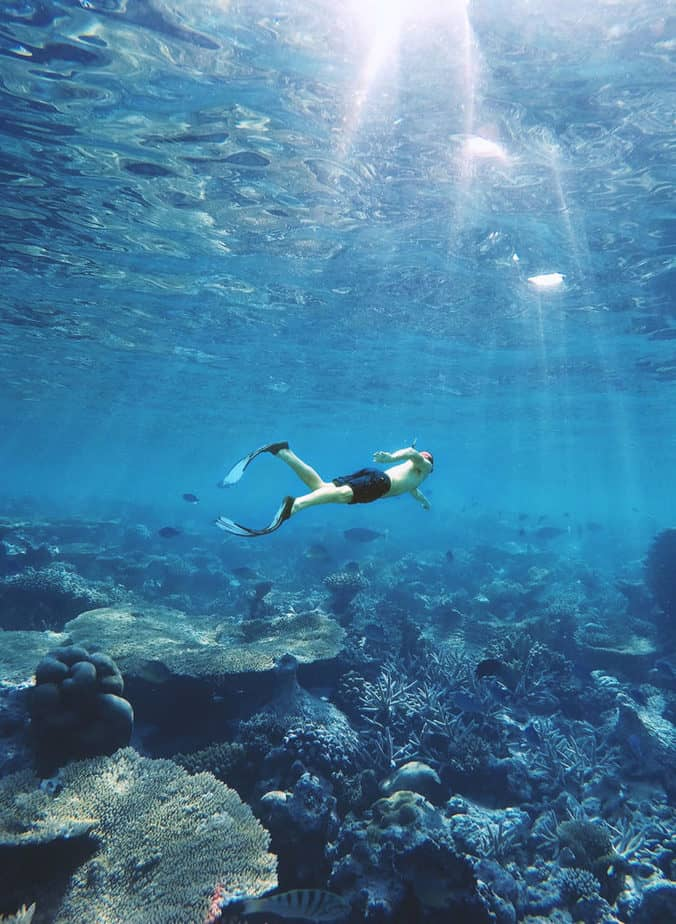how deep can you dive underwater
