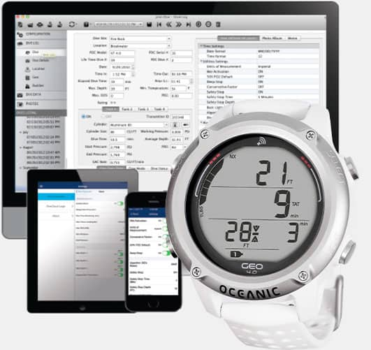 oceanic geo 4.0 paired with smart devices