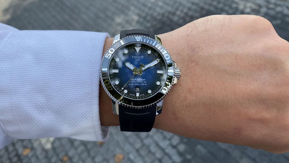 tissot seastar review