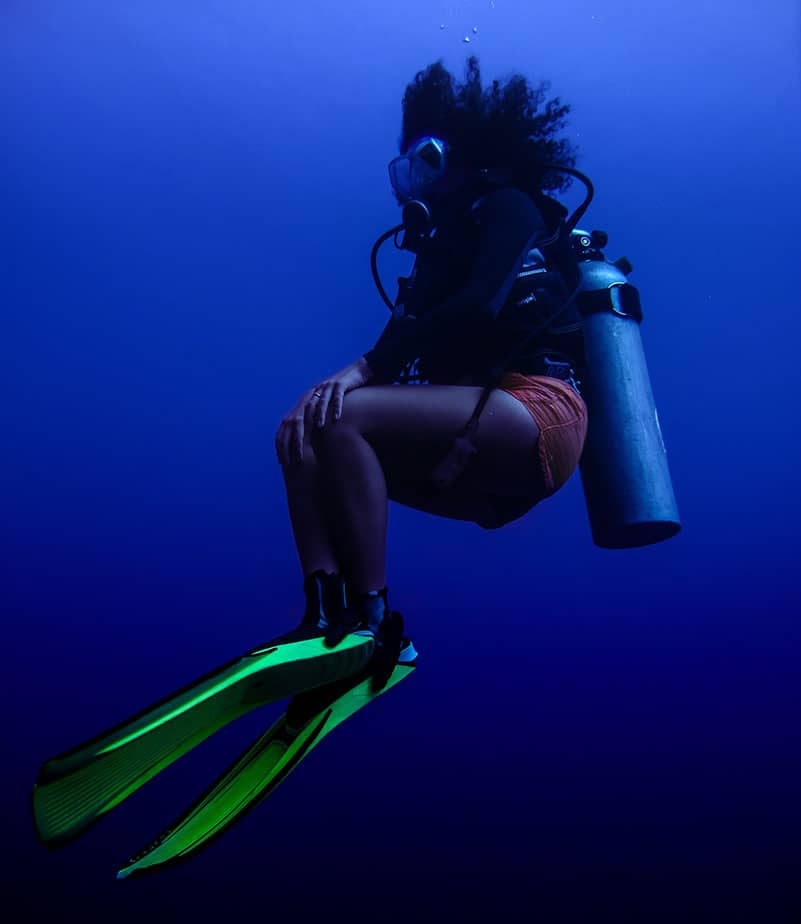 scuba diving safety stops
