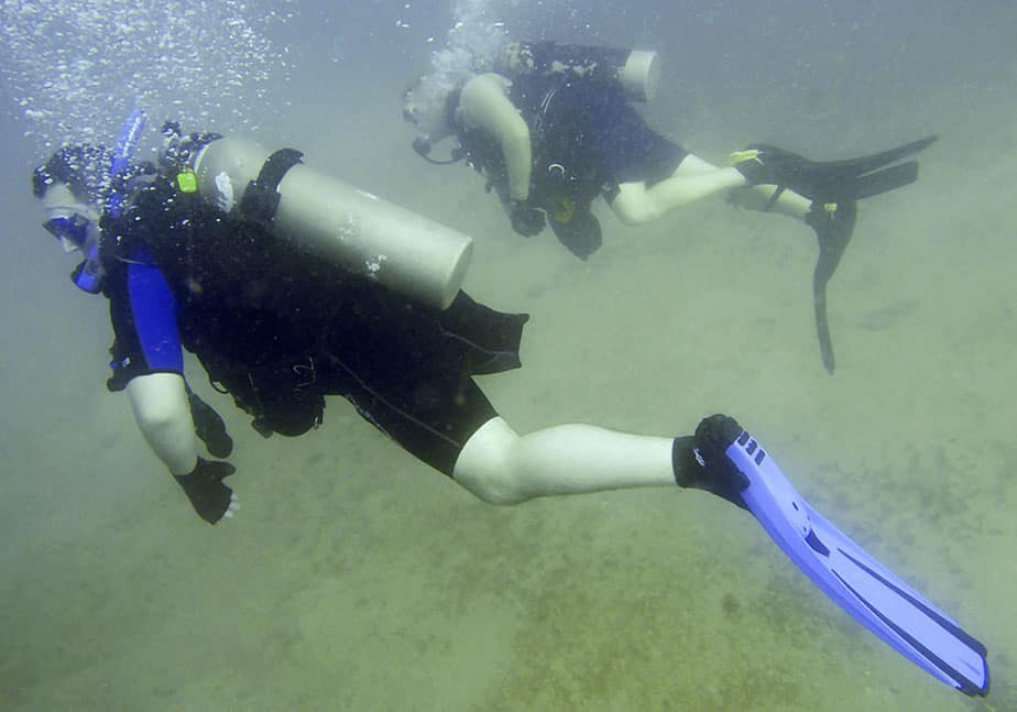 scuba diving for the disabled