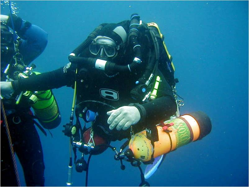 what is deep sea diving