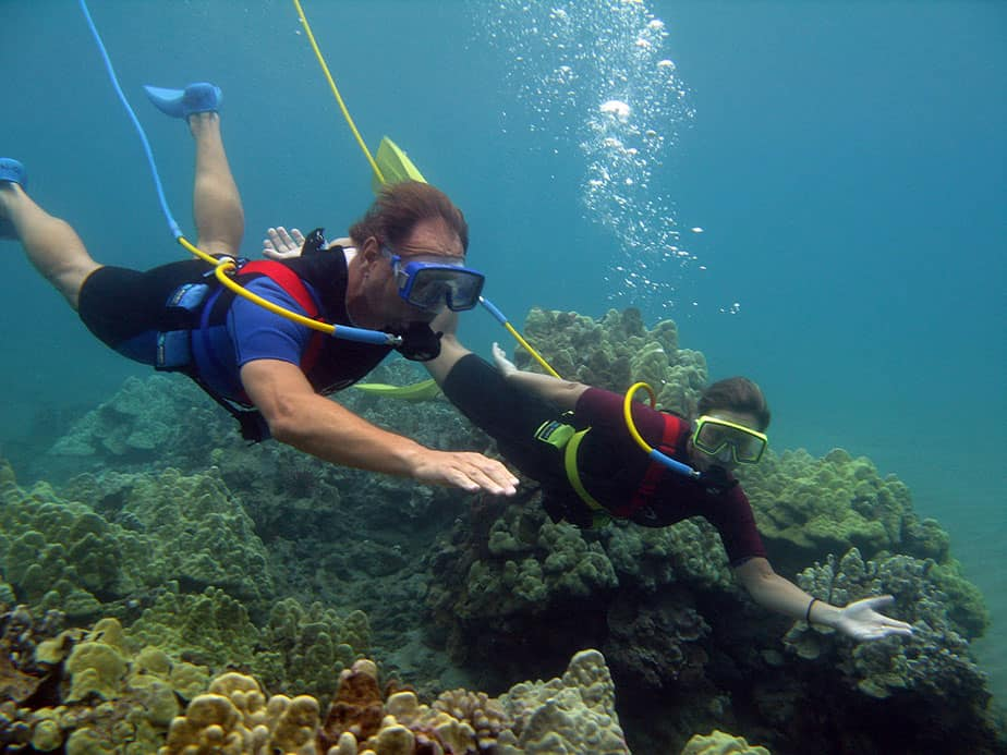 what is snuba diving