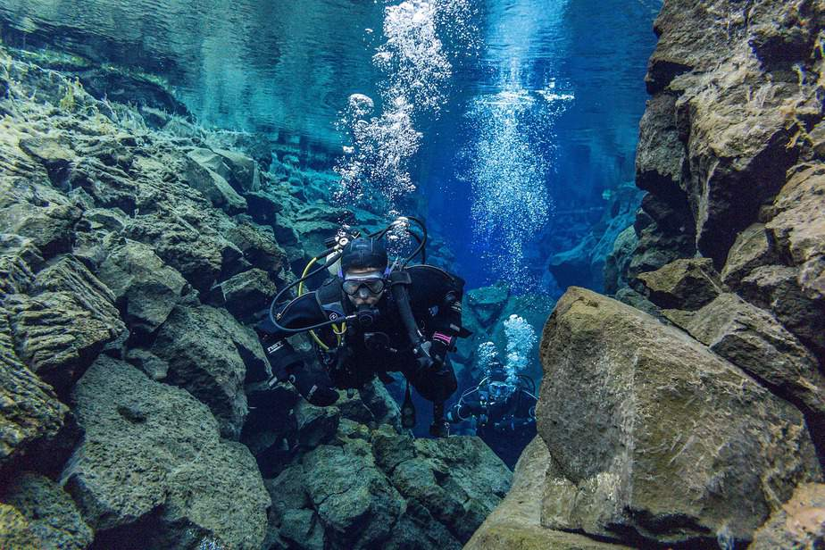 is scuba diving good exercise workout